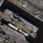 USS Kearsarge (LHD 3) amphibious assault ship (Google Maps)