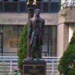 Aleksandr Pushkin statue