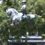 General Logan statue (StreetView)