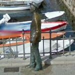 James Joyce statue (StreetView)