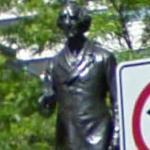 John A. Macdonald statue (StreetView)