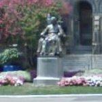 John Carroll statue