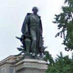 Daniel Webster statue by Gaetano Trentanove (StreetView)