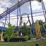 Batman: The Ride Roller Coaster (StreetView)