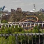 Le Monstre - World's Tallest Two-Track Wooden Roller Coaster