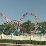 'Flashback' steel boomerang coaster