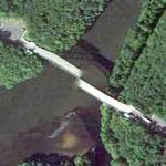 Misaligned Bridge (Google Maps)