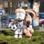 Boule and Bill statue (StreetView)