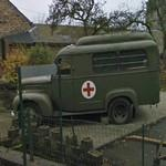 US WW2 forces ambulance