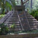 Mini Mesoamerican Pyramid