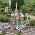 Mini Saint Basil's Cathedral (StreetView)