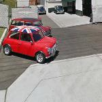 Mini Coopers (StreetView)