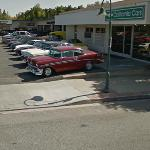 Classic American cars (StreetView)