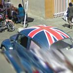 Union Jack VW Beetle