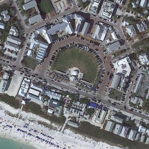 Seaside The Truman Show Town In Seaside Fl Google Maps
