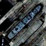 Ship for repair (Google Maps)
