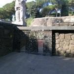 Ardeatine massacre site in Rome March 24th. 1944