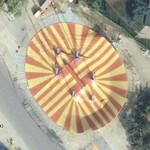 Circus tent to be set up (Google Maps)