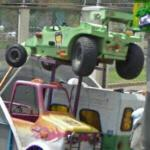 Carnival ride cars (StreetView)