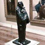 'Monument to Balzac' by Rodin