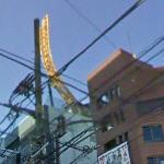 Never used roller coaster on the roof of a hotel (StreetView)