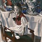 'Girl with Porcelain' by Aleksandr Golovin