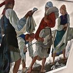 'Bleaching the Cloth' by Zinaida Serebriakova