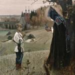 'Vision of youth Bartholomew' by Mikhail Nesterov