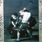 'The Forge' by Francisco de Goya y Lucientes