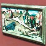'Christ Nailed to the Cross' by Gerard David