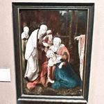 'Christ taking leave of his Mother' by Wolf Huber (StreetView)