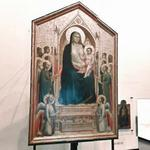 'The Ognissanti Madonna' by Giotto