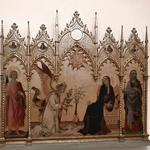 'Annunciation' by Simone Martini e Lippo Memmi (StreetView)