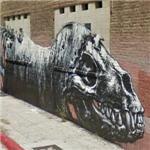 Graffiti by ROA (StreetView)