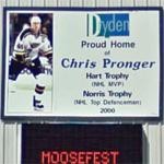 Dryden is proud of Chris Pronger