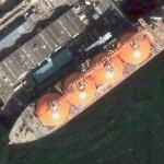 Arctic Discoverer liquid natural gas transport (Google Maps)