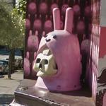 Pink Skull Rabbit