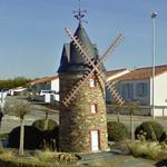 Windmill in roundabout
