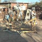 Junk Sculpture Garden