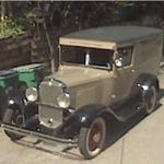 Old car - 1930 Chevy van ?