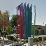 Rainbow Poles (StreetView)