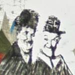 Laurel and Hardy Graffiti
