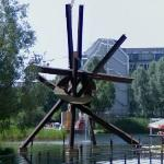 'Galileo' by Mark di Suvero (StreetView)