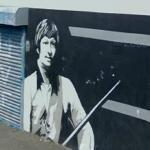 "Alex ""Hurricane"" Higgins Mural"