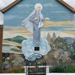 Virgin Mary mural