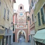 Porta di Passorino - city gate with clock tower (StreetView)