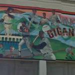 San Francisco Giants mural