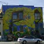 Treehouse mural (StreetView)