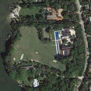 Tiger Woods' House (Google Maps)