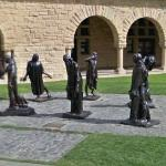 'Burghers of Calais' by Auguste Rodin (StreetView)